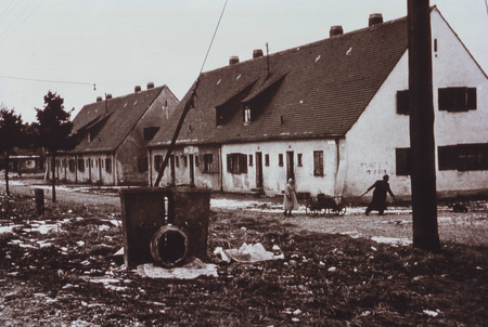 """New Jersey Street"" im Displaced Persons Camp Föhrenwald, 1956"